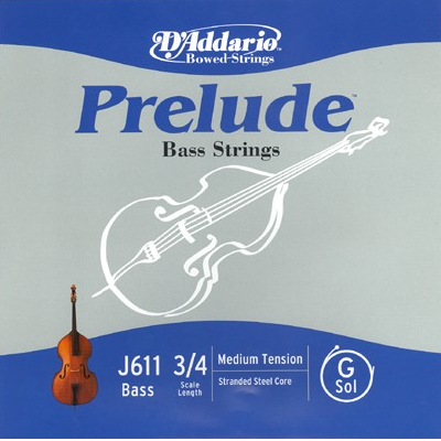 Prelude Bass Strings by D Addario