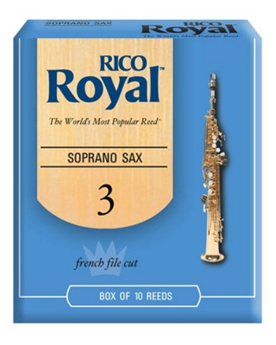 Rico Royal Soprano Saxophone Reeds (Assorted Strengths)
