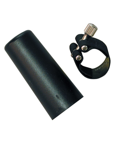 Rovner Dark Rubber Alto Saxophone Ligature