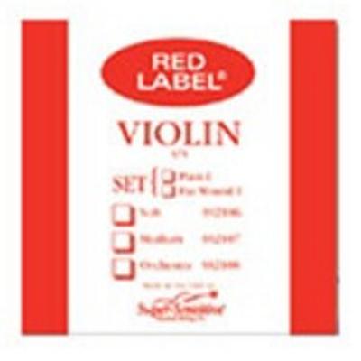 Super Sensitive Red Label Single Violin String ( 4/4, E )
