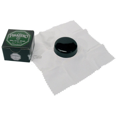Pirastro Olive Rosin (Dark On Cloth)