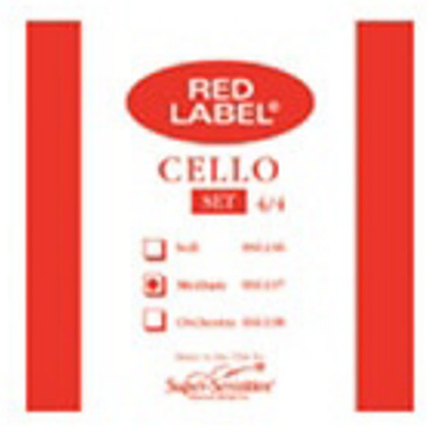 Super Sensitive Red Label Cello String (D)