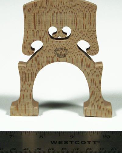 Aubert Cello Bridge-Mirecourt Not Treated