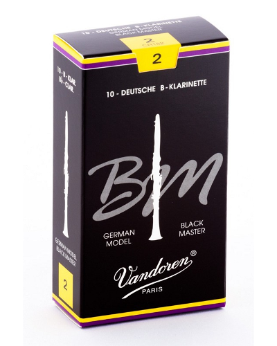 Vandoren Black Master Bb Clarinet Reeds (Box of 10)