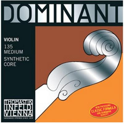 Thomastik Dominant Violin String Set (4/4 Set, Wound E String, Loop)