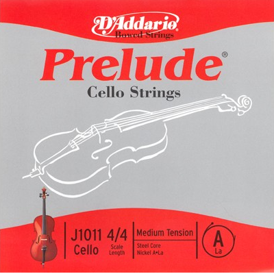 Prelude Cello Strings by D Addario