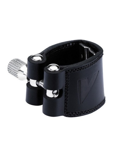 Vandoren LC21P Leather Bb Clarinet Ligature (with Plastic Cap)