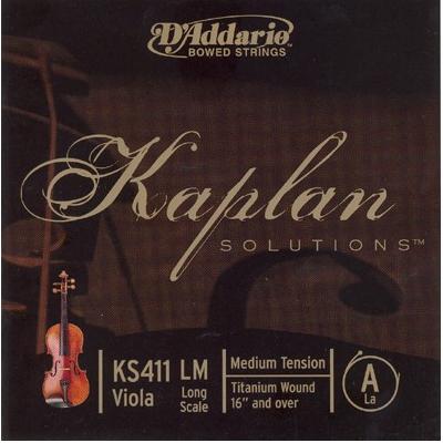 D Addario Kaplan Solutions Viola String-A