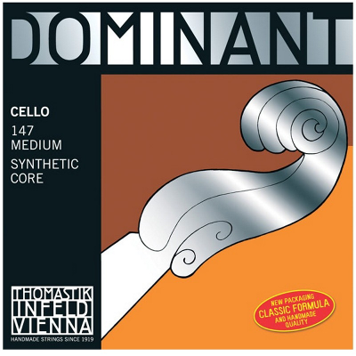 Thomastik Dominant Cello String Set (4/4 Size)
