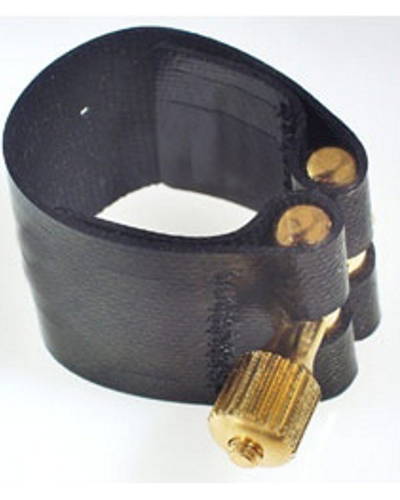 Rovner Dark Rubber Clarinet Ligature