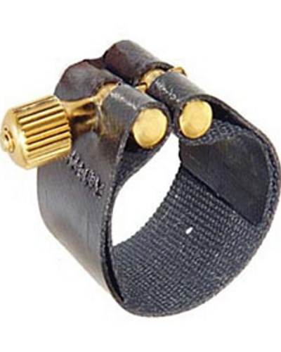 Rovner Dark Rubber Tenor Saxophone Ligature