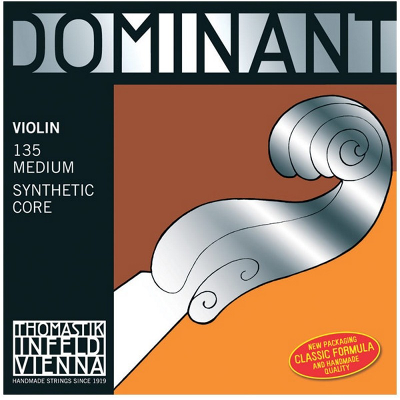 Thomastik Dominant Violin String Set (4/4 Set, Steel E String, Loop)