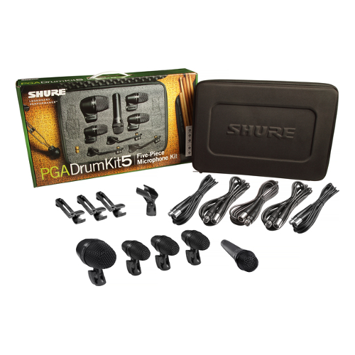Shure PGA Drum Kit 5 Drum Microphone Kit