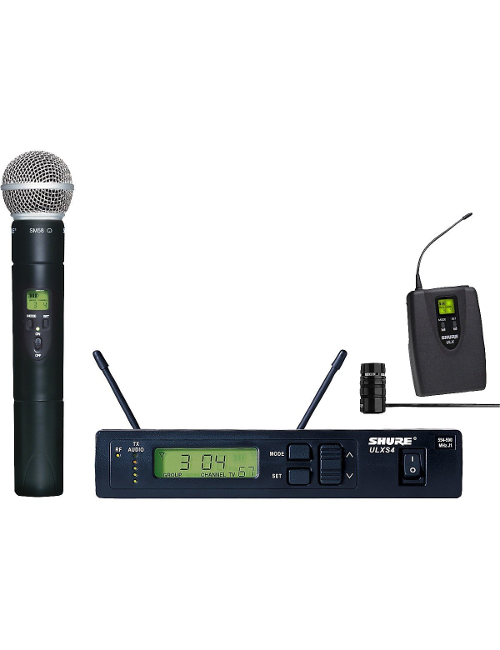 Shure ULXS124/85 Combo Wireless System