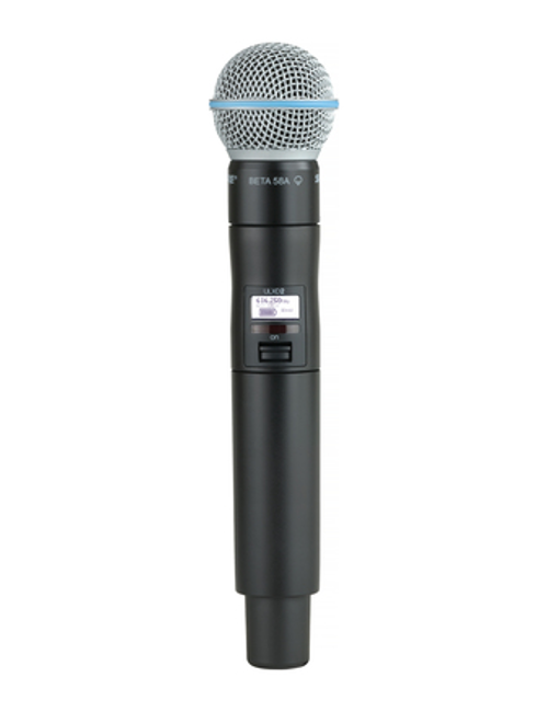Shure ULXD2/B58 Handheld Wireless Microphone Transmitter