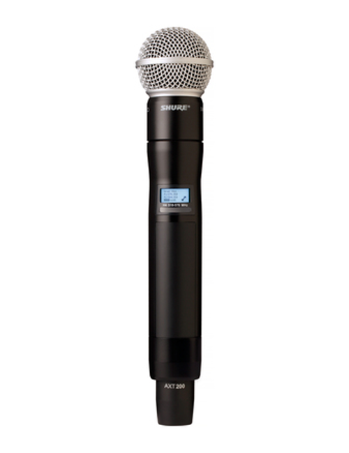 Shure AXT200/SM58 Handheld Frequency Diversity Transmitter