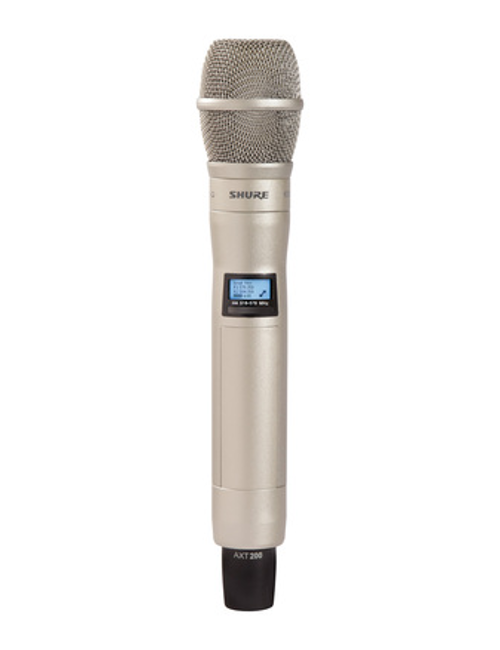 Shure AXT200/KSM9S Handheld Frequency Diversity Transmitter