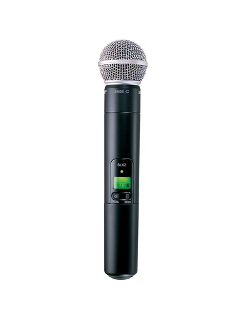 Shure SLX2/SM58 Handheld Wireless Microphone Transmitter