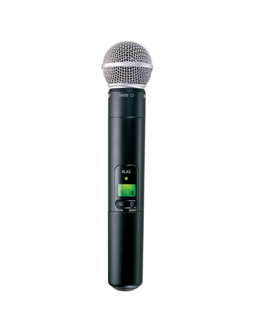 Shure SLX2/SM58 Handheld Wireless Microphone Transmitter