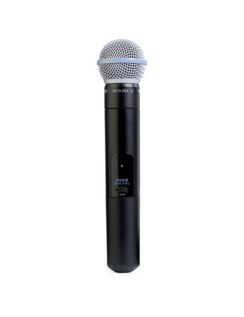 Shure PGXD2/BETA58 Handheld Wireless Microphone Transmitter