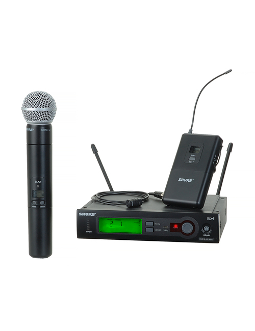 Shure SLX124/85/SM58 Combo Wireless System