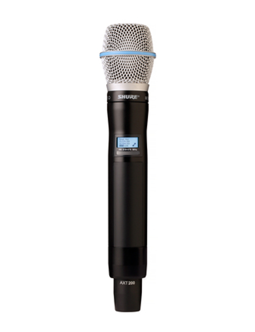 Shure AXT200/BETA87A Handheld Frequency Diversity Transmitter