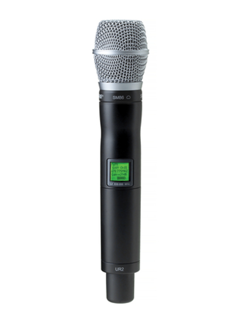Shure UR2/SM86 Handheld Wireless Microphone Transmitter