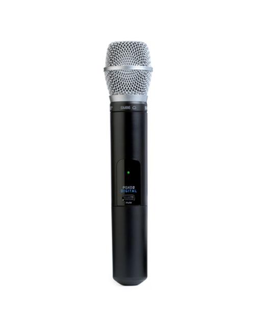 Shure PGXD2/SM86 Handheld Wireless Microphone Transmitter