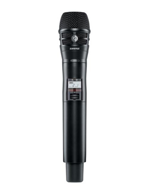 Shure QLXD2/K8B Handheld Wireless Microphone Transmitter