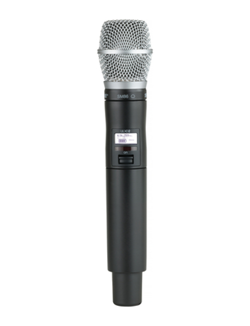 Shure ULXD2/SM86 Handheld Wireless Microphone Transmitter