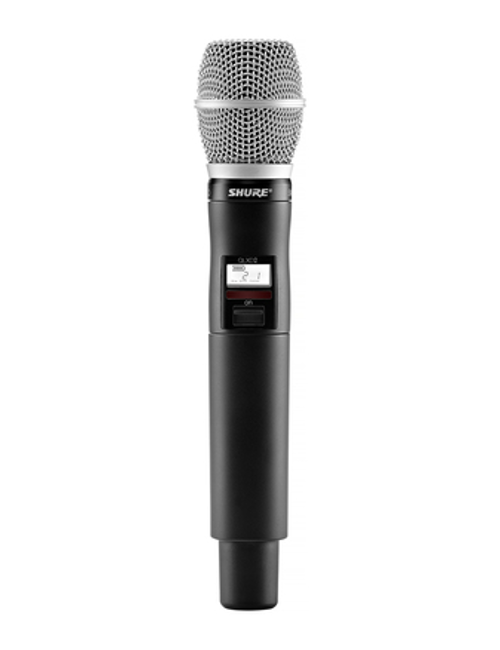 Shure QLXD2/SM86 Handheld Wireless Microphone Transmitter