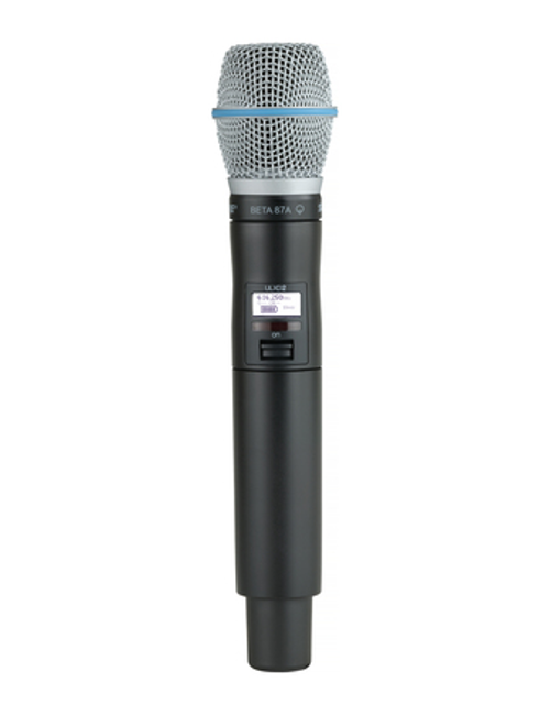 Shure ULXD2/B87A Handheld Wireless Microphone Transmitter