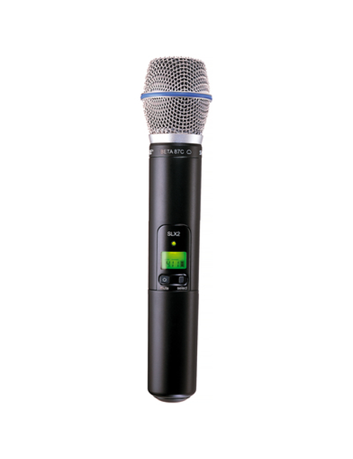 Shure SLX2/BETA87C Handheld Wireless Microphone Transmitter