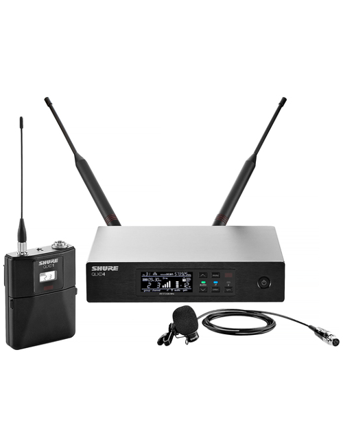 Shure QLXD14/83 Lavalier Wireless Microphone System