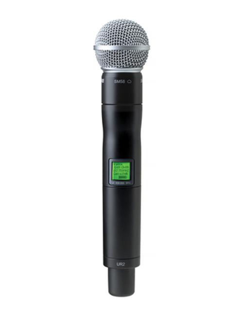 Shure UR2/SM58 Handheld Wireless Microphone Transmitter