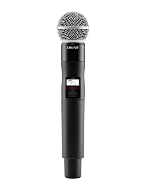 Shure QLXD2/SM58 Handheld Wireless Microphone Transmitter