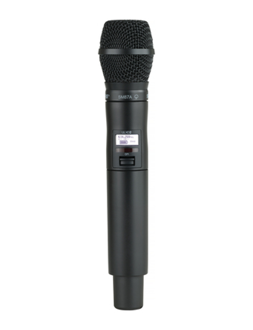 Shure ULXD2/SM87 Handheld Wireless Microphone Transmitter