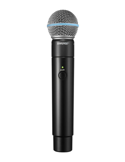 Shure MXW2/BETA58 Handheld Wireless Microphone Transmitter