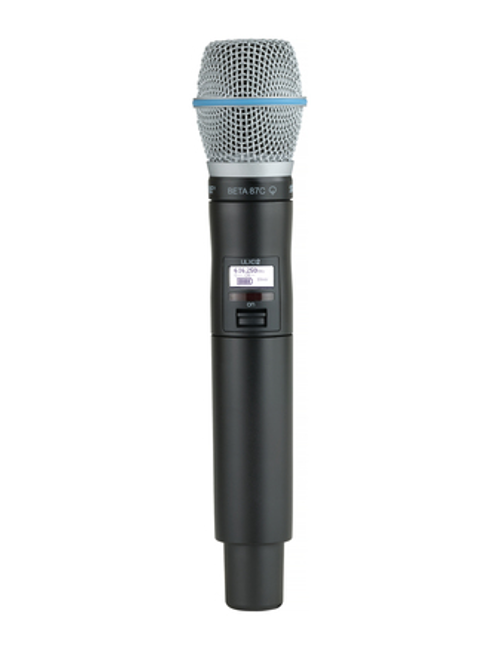 Shure ULXD2/B87C Handheld Wireless Microphone Transmitter