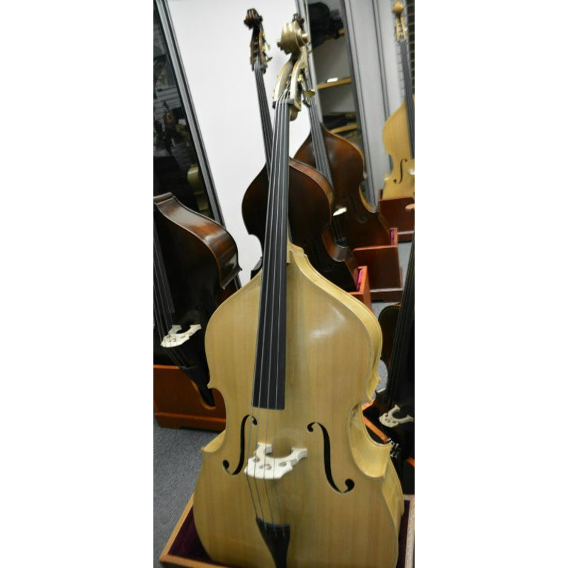 Vienna Strings Special Edition Blonde 1/2 Size Bass Older German Violin Corners