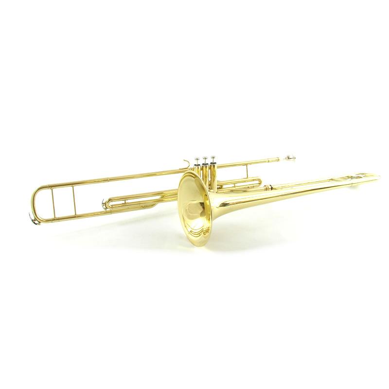 Schiller American Heritage C Valve Trombone Gold Lacquer