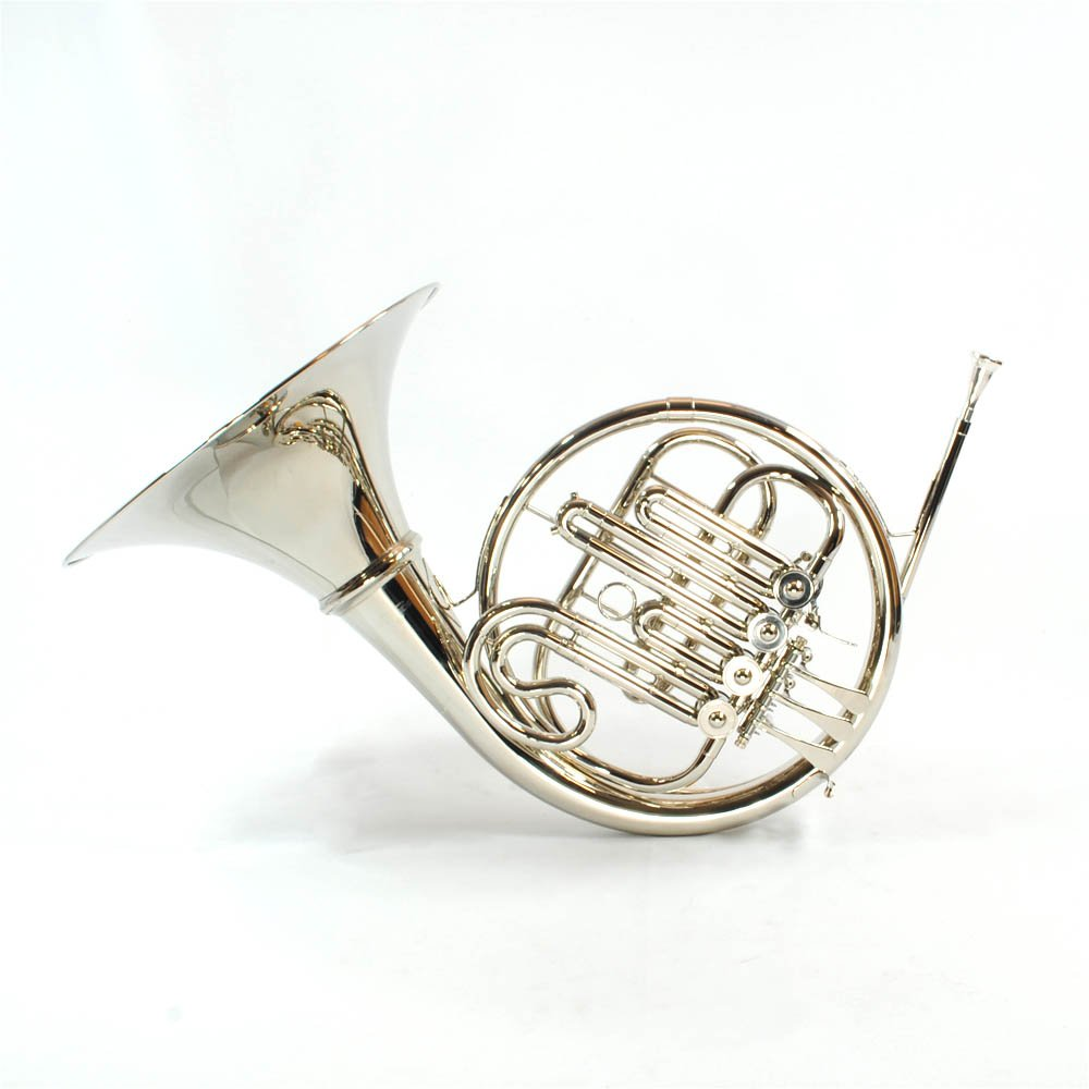 Schiller American Heritage Single French Horn - Nickel 4 Keys