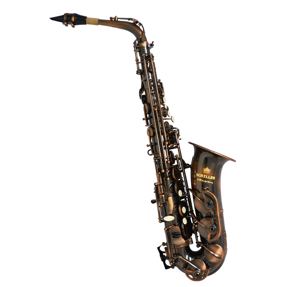 Schiller American Heritage 400 Alto Saxophone W/ Accessory Pack