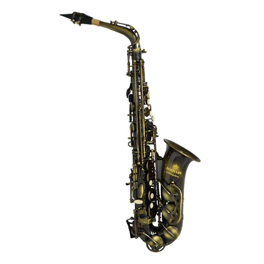 Schiller American Heritage 400 Alto Saxophone - Turkish Brass
