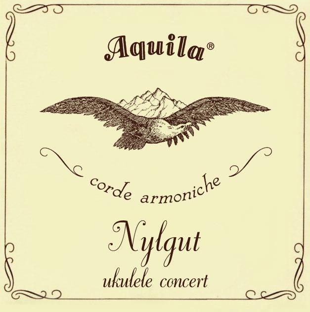 Aquila 7U Nylgut Concert Regular Tuning Ukulele Strings