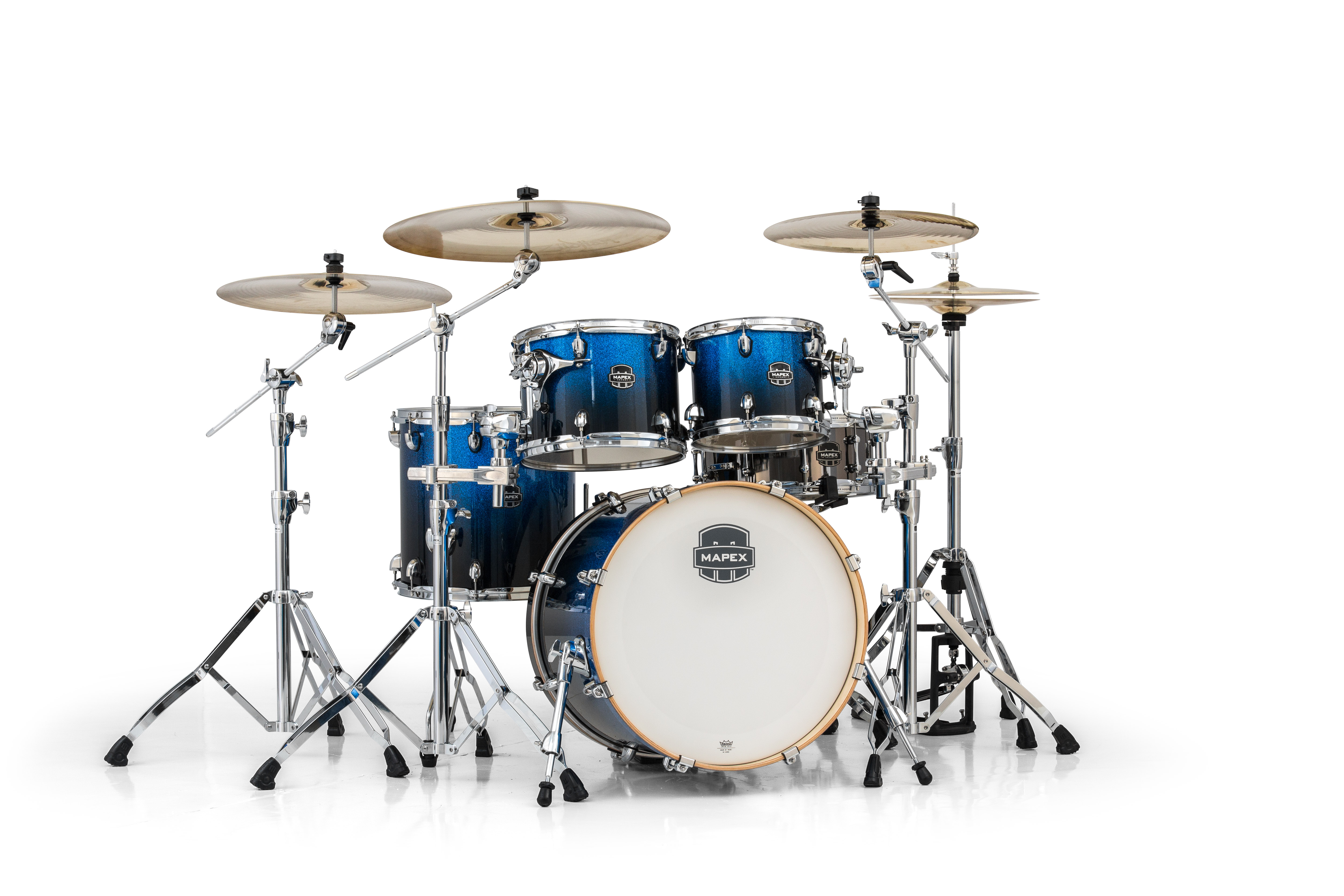 Mapex Armory 5 Piece Fusion Shell Pack - AR504SBI - Photon Blue