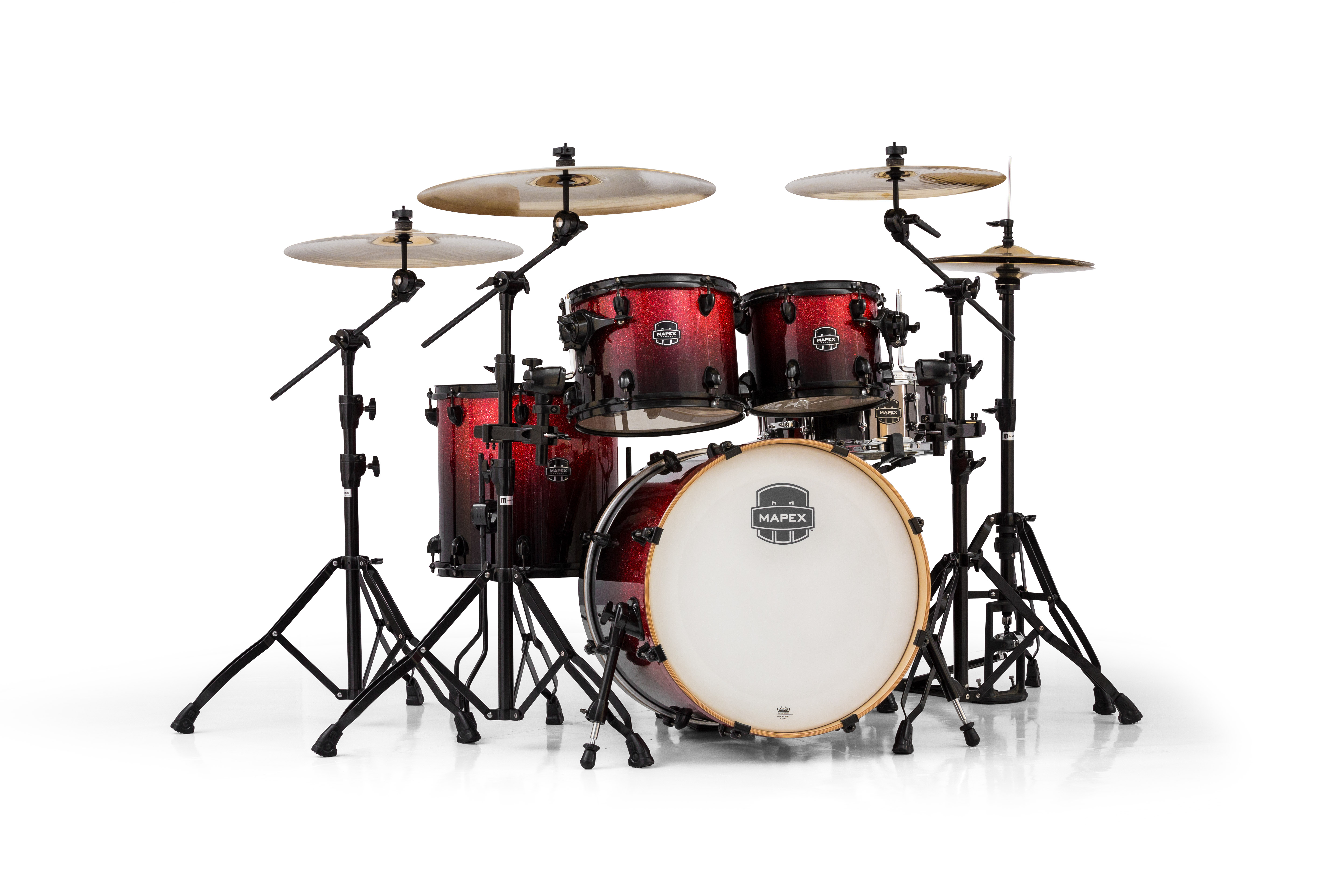 Mapex Armory 5 Piece Fusion Shell Pack - AR504SNV - Magma Burst
