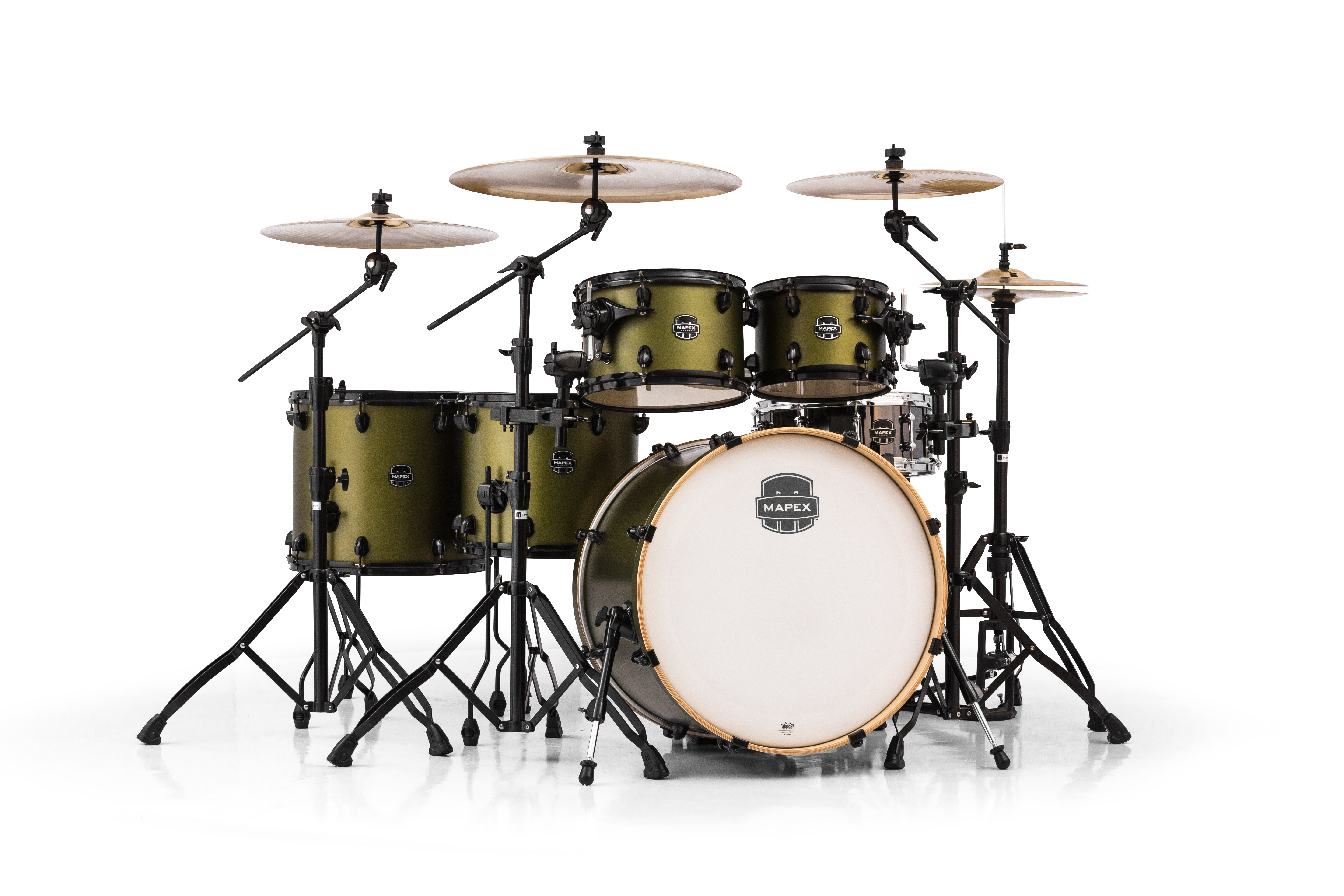 Mapex Armory 6 Piece Studioease Fast Shell Pack - AR628SFUBGM - Mantis Green
