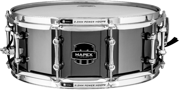 Mapex Armory Tomahawk Snare Drum - ARST4551CEB