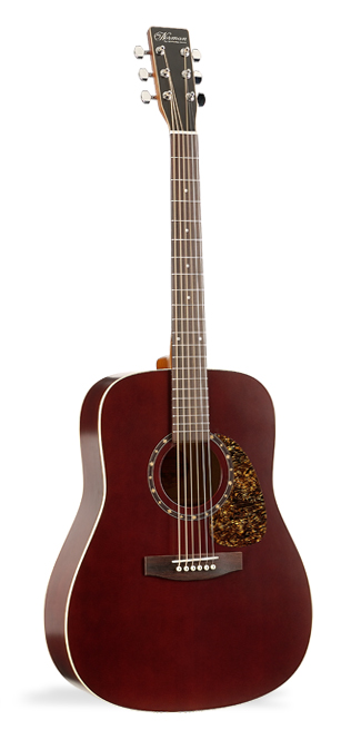 Norman B18 Burgundy Acoustic Guitar